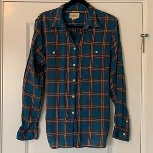 Ralph Lauren women's flannel. Size EX